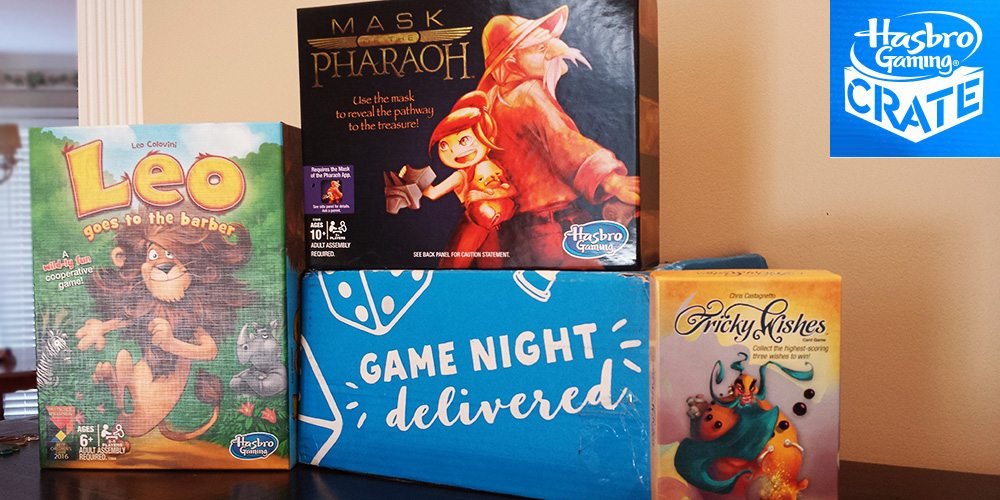 Hasbro Gaming Crate August Contents