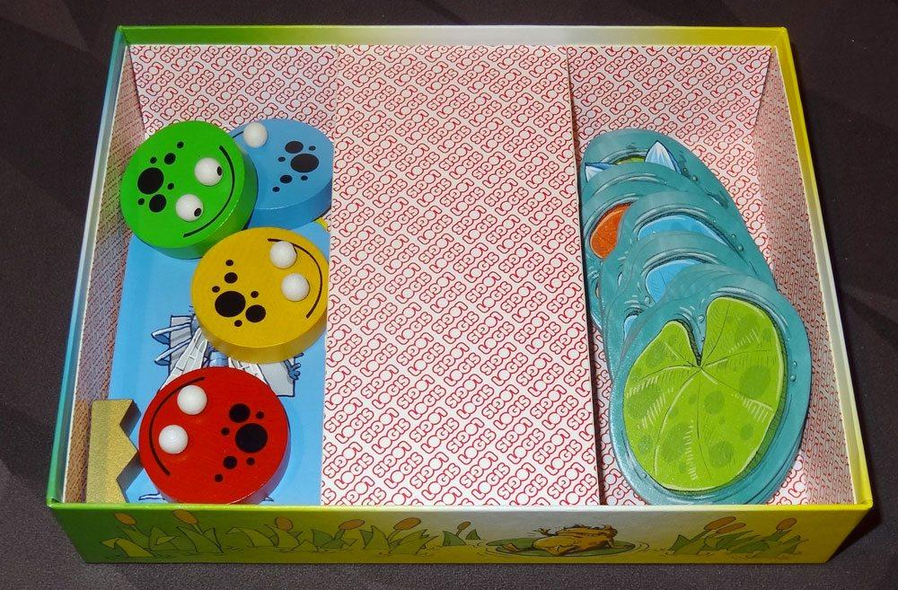 King Frog box insert