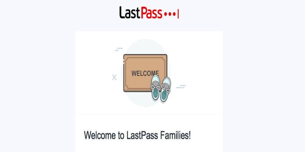 LastPass Families