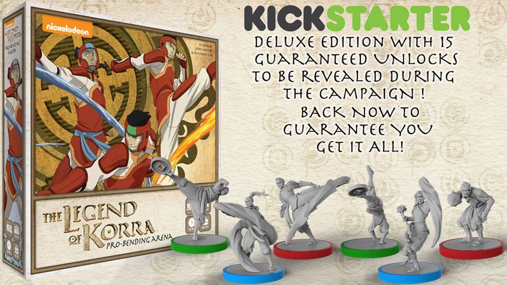 Kickstarter Tabletop Alert: 'The Legend of Korra: Pro-bending Arena'