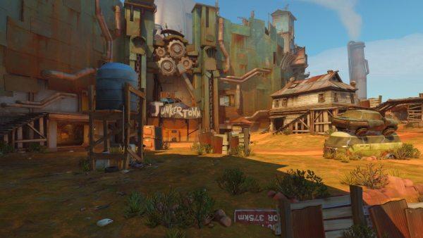 Junkertown Screenshot from Overwatch video game
