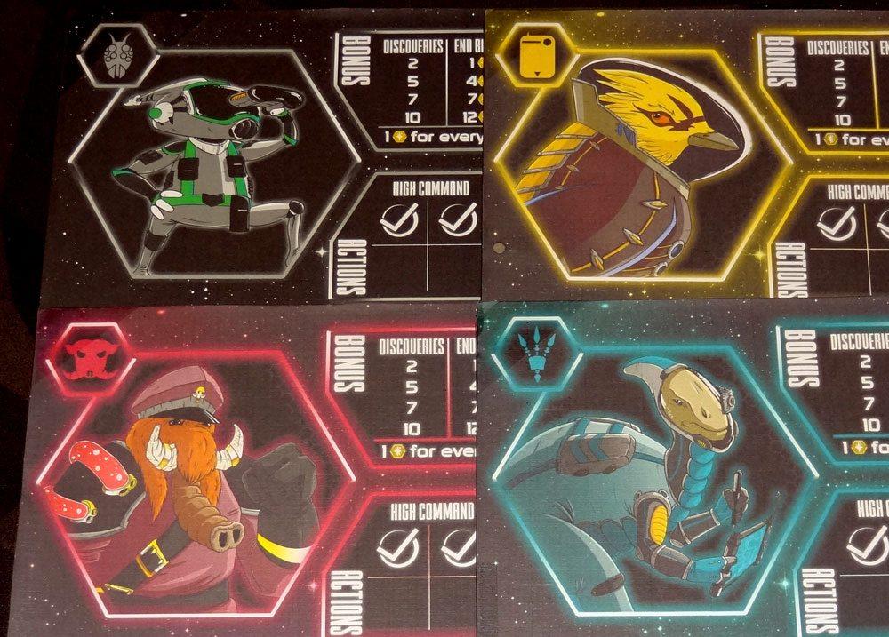 Stellar Leap characters