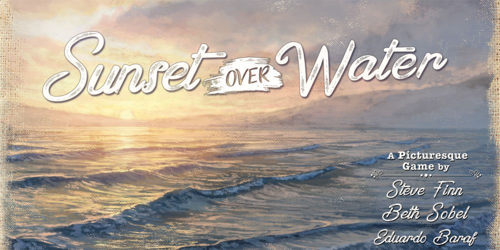 Kickstarter Tabletop Alert: 'Sunset Over Water'
