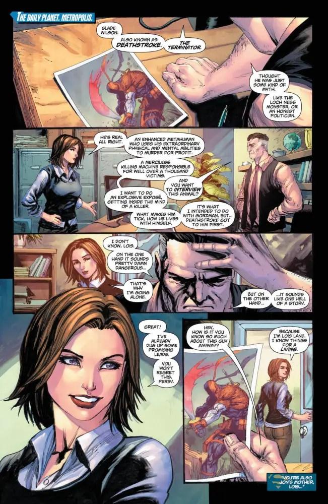 Lois Lane, Superman #31, DC Comics