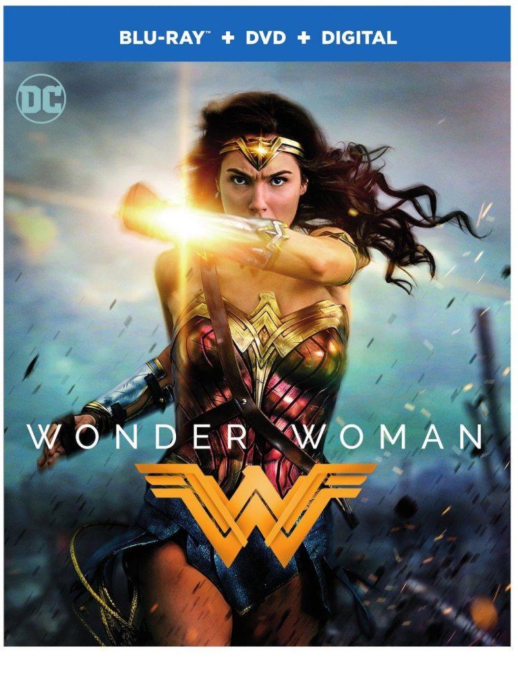 Gail Gadot Wonder Woman DVD