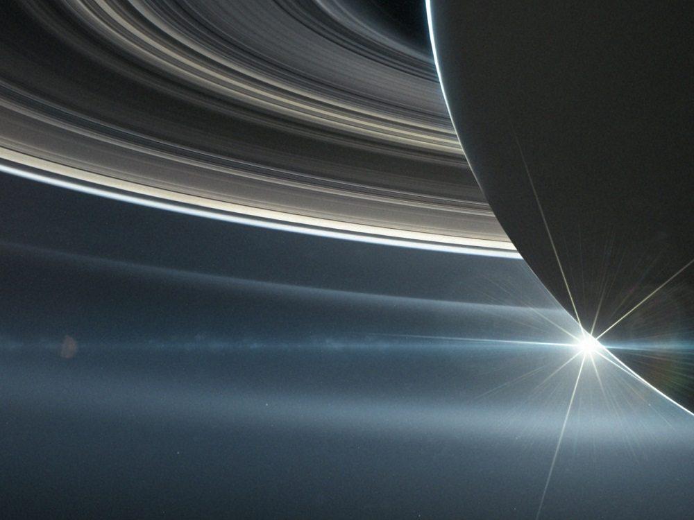 Saturn rings Cassini
