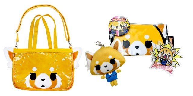 Aggretsuko bag is bigger than it looks.  Image: Sanrio
