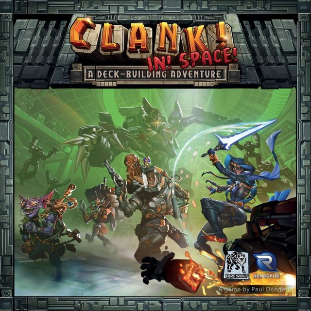Clank! In! Space! cover