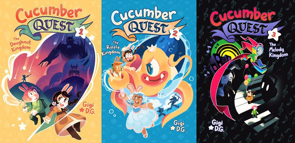 Cucumber Quest Volumes 1-3