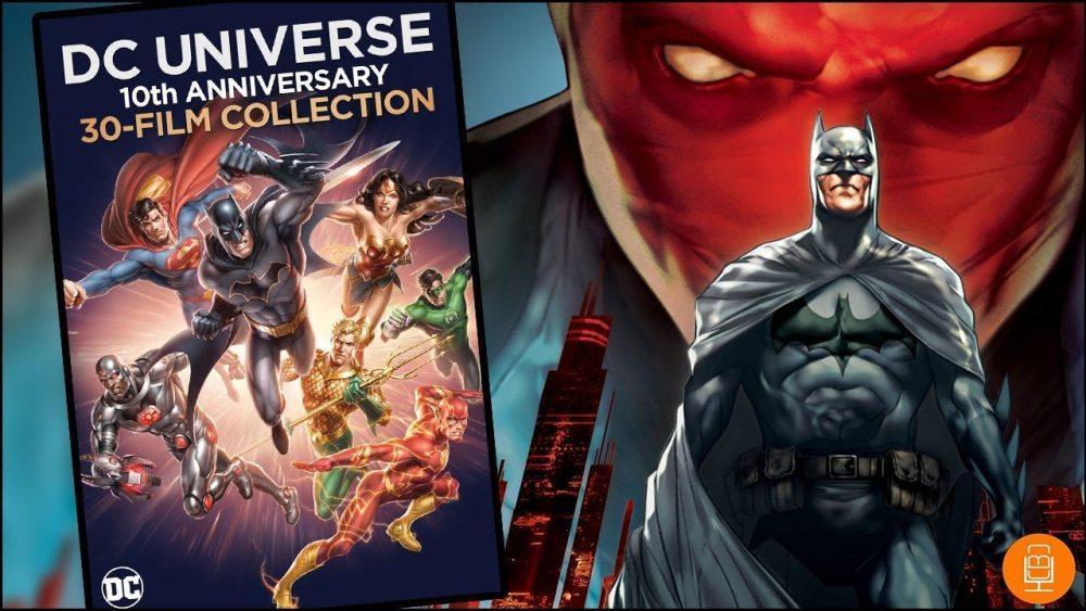 Animated DC Movie Universe