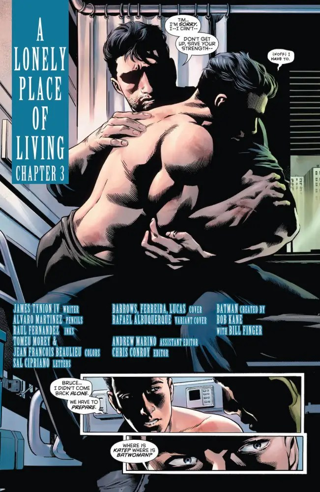 Tim Drake, Bruce Wayne, Detective 967