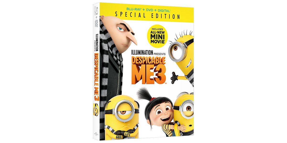 Coming Soon: 'Despicable Me 3 Special Edition'