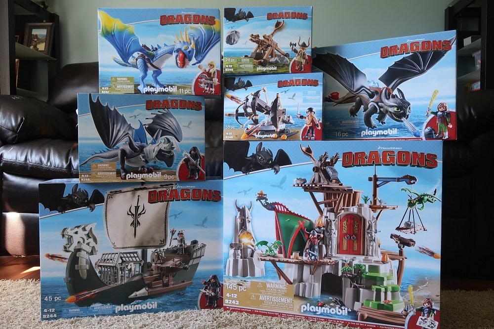 Playmobil Playroom: 'DreamWorks Dragons'