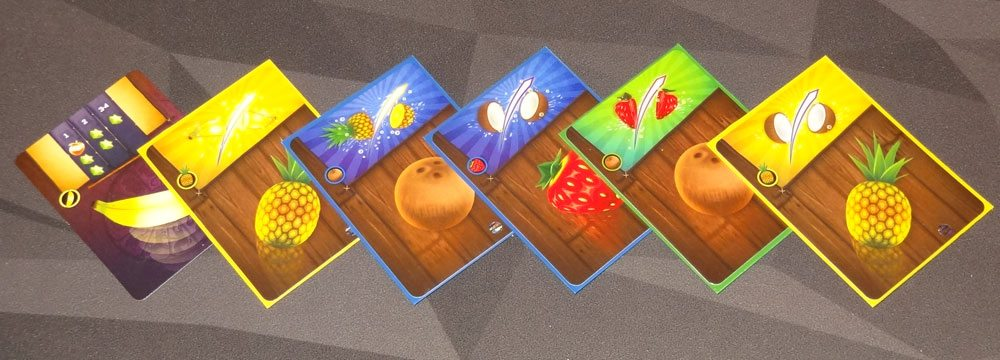 Fruit Ninja: Card Master card chain