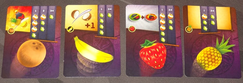 Fruit Ninja: Card Master dojo cards
