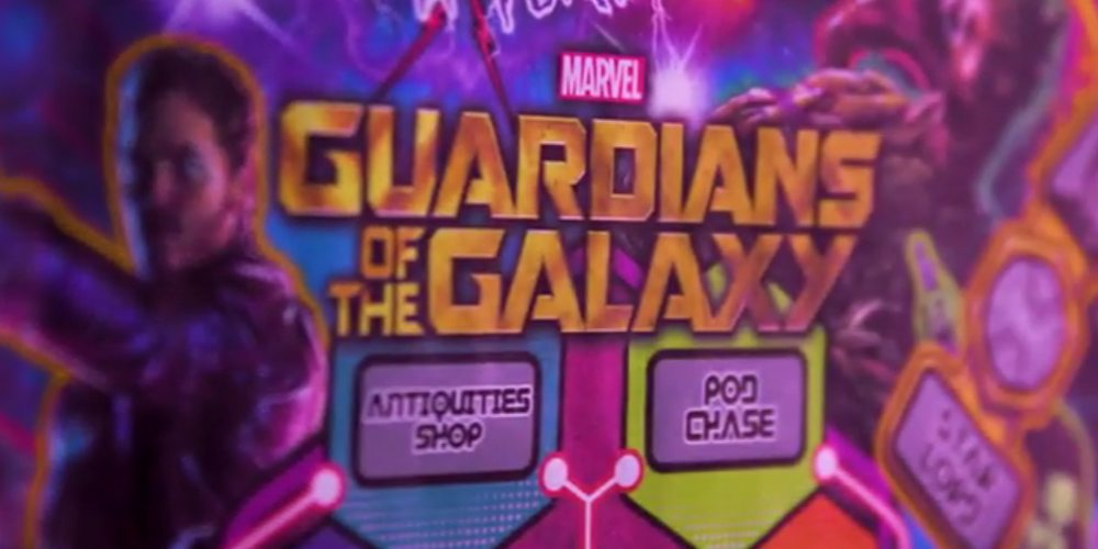Teaser: Are You Ready for a Guardians of the Galaxy Pinball Machine?