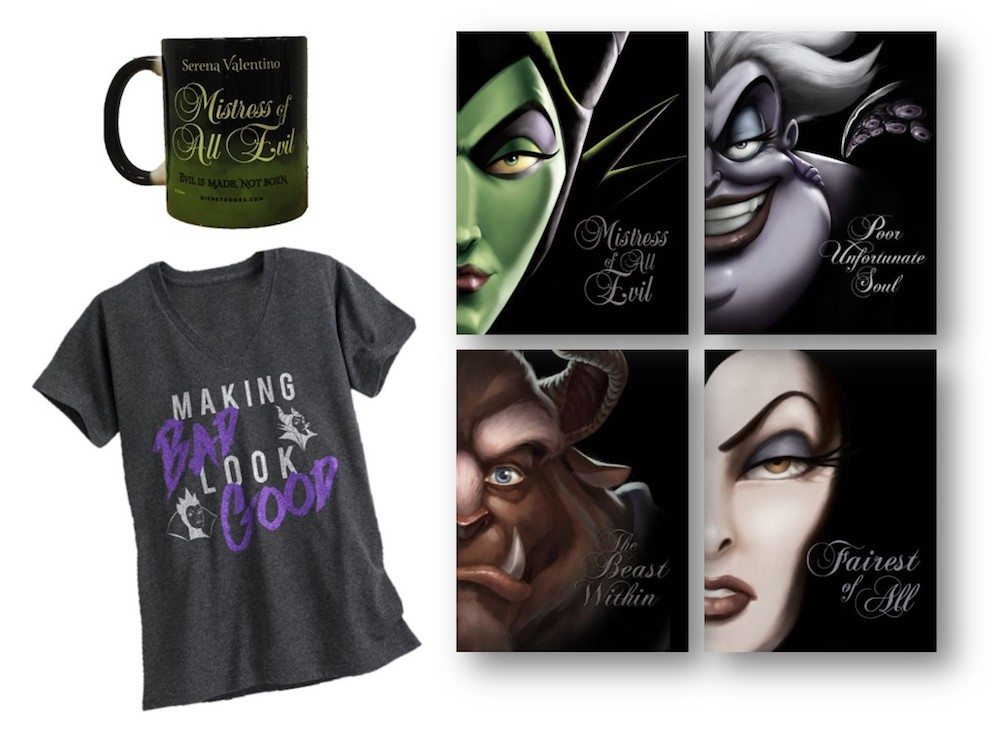 Making Bad Look Good: A Disney Villains Giveaway