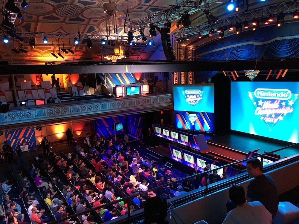 Nintendo World Championships 2017, Manhattan Center ballroom, New York City