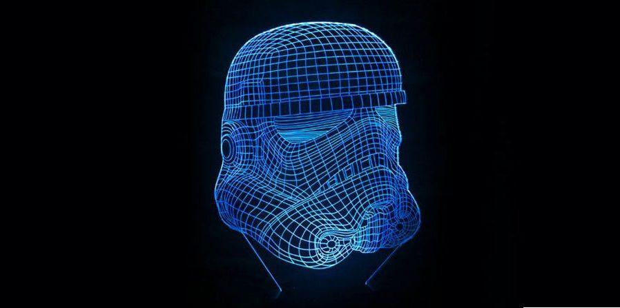 GeekDad Daily Deal: 'Star Wars' 3D Mega Lamps