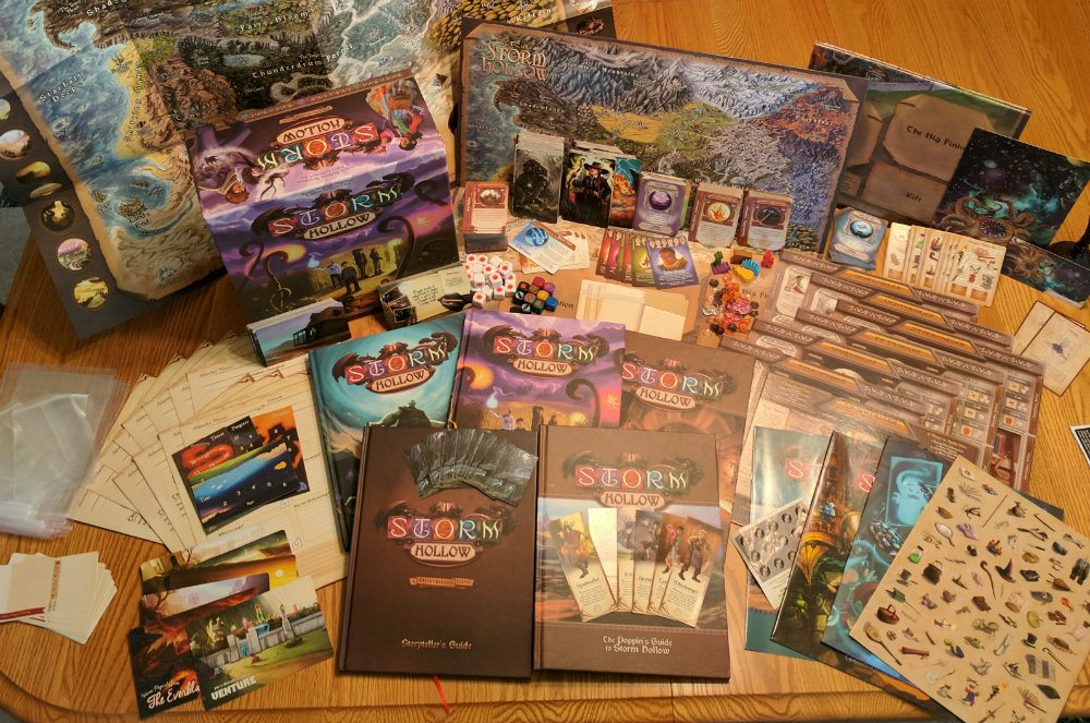 Contents from Storm Hollow Box