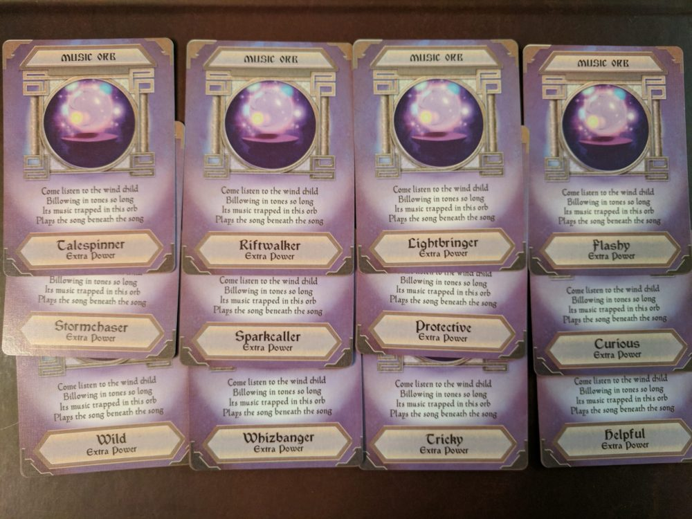Storm Hollow Preludes Music Power Orb Cards