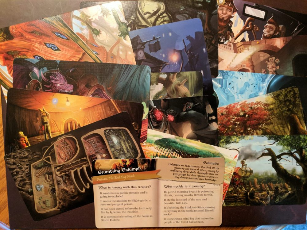 Storm Hollow Preludes Scene Cards