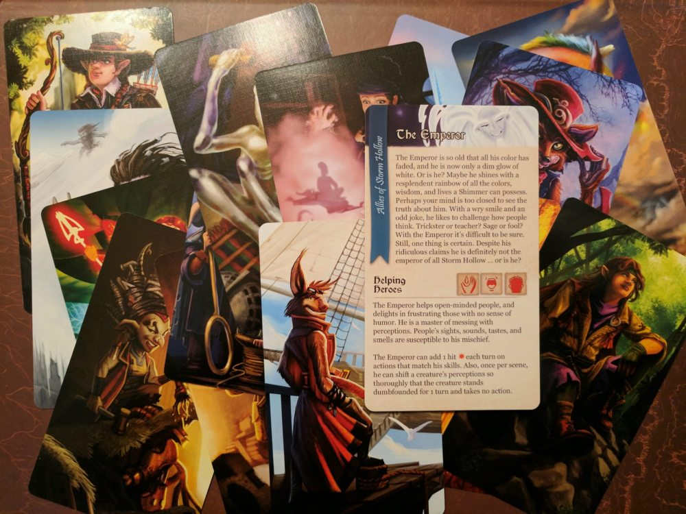 Storm Hollow Tales of a New Age Ally Cards