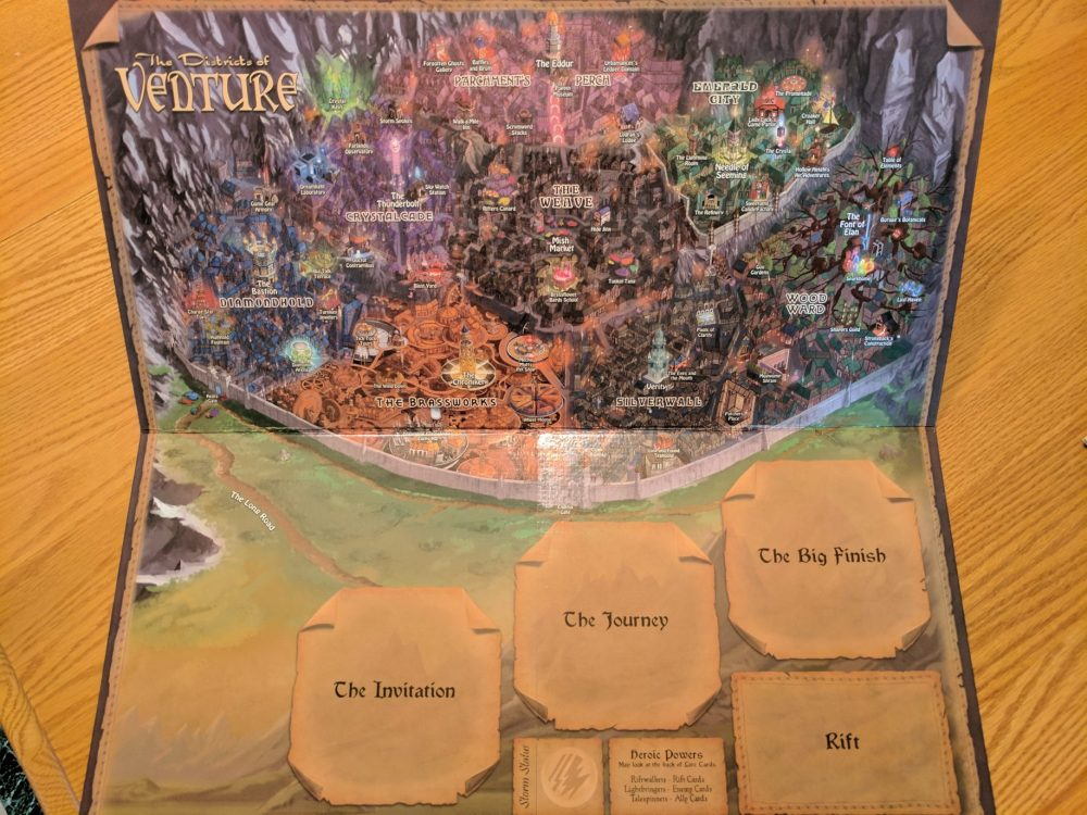 Storm Hollow Tales of a New Age Map of Venture