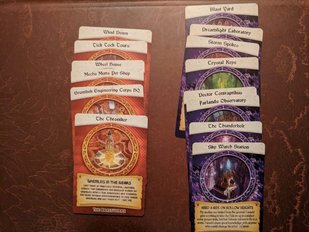 Storm Hollow Tales of a New Age Venture Rumors and Resources Cards 3 of 3
