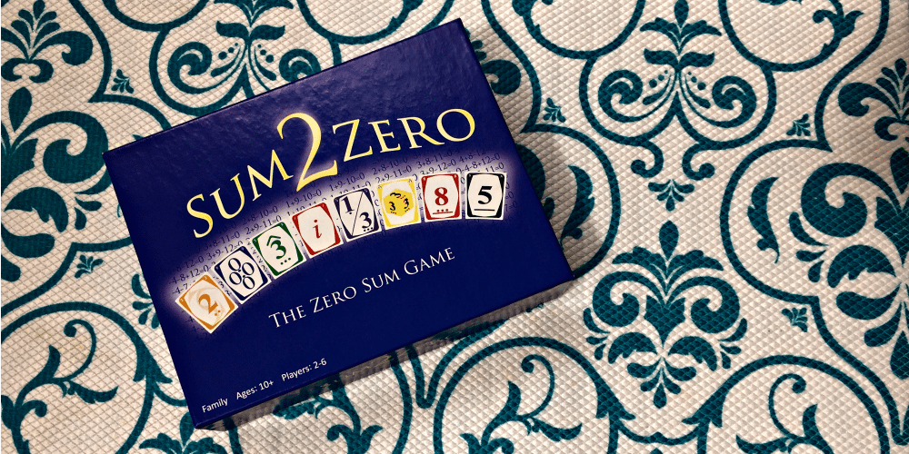 'Sum2Zero' is the Perfect Game for Stealth Math Learning! | Caitlin Fitzpatrick Curley, GeekMom
