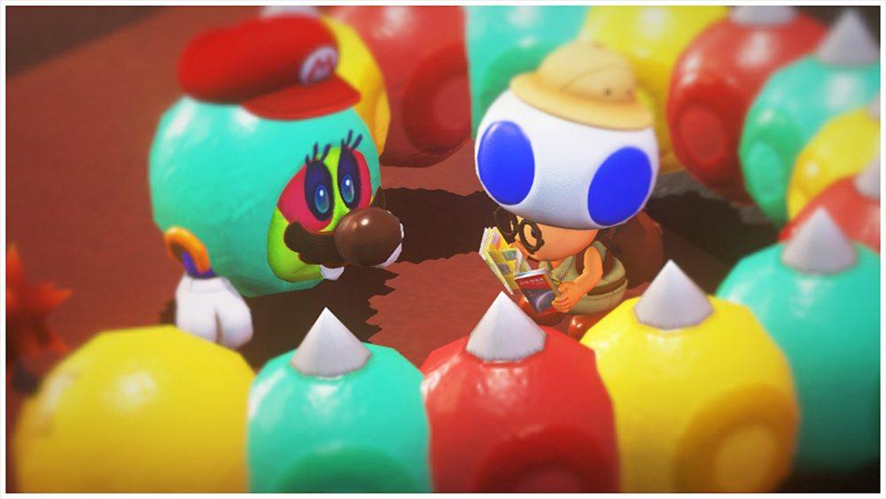 Super Mario Odyssey Mario and Toad