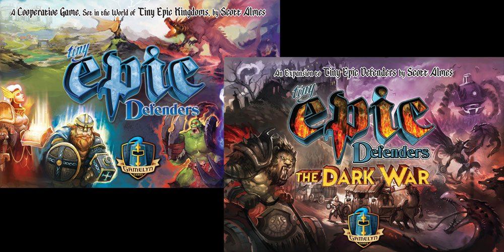 Kickstarter Tabletop Alert: 'Tiny Epic Defenders: The Dark War'