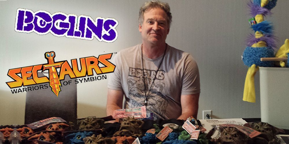 Talking Boglins and Sectaurs With Toy Designer Tim Clarke at Dragon Con