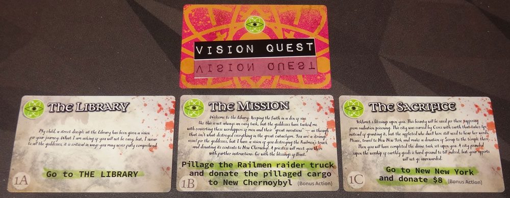 Wasteland Express Vision Quest
