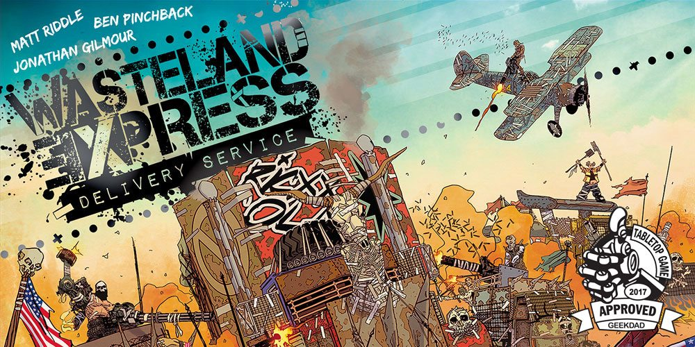 'Wasteland Express Delivery Service': Keep on Truckin'