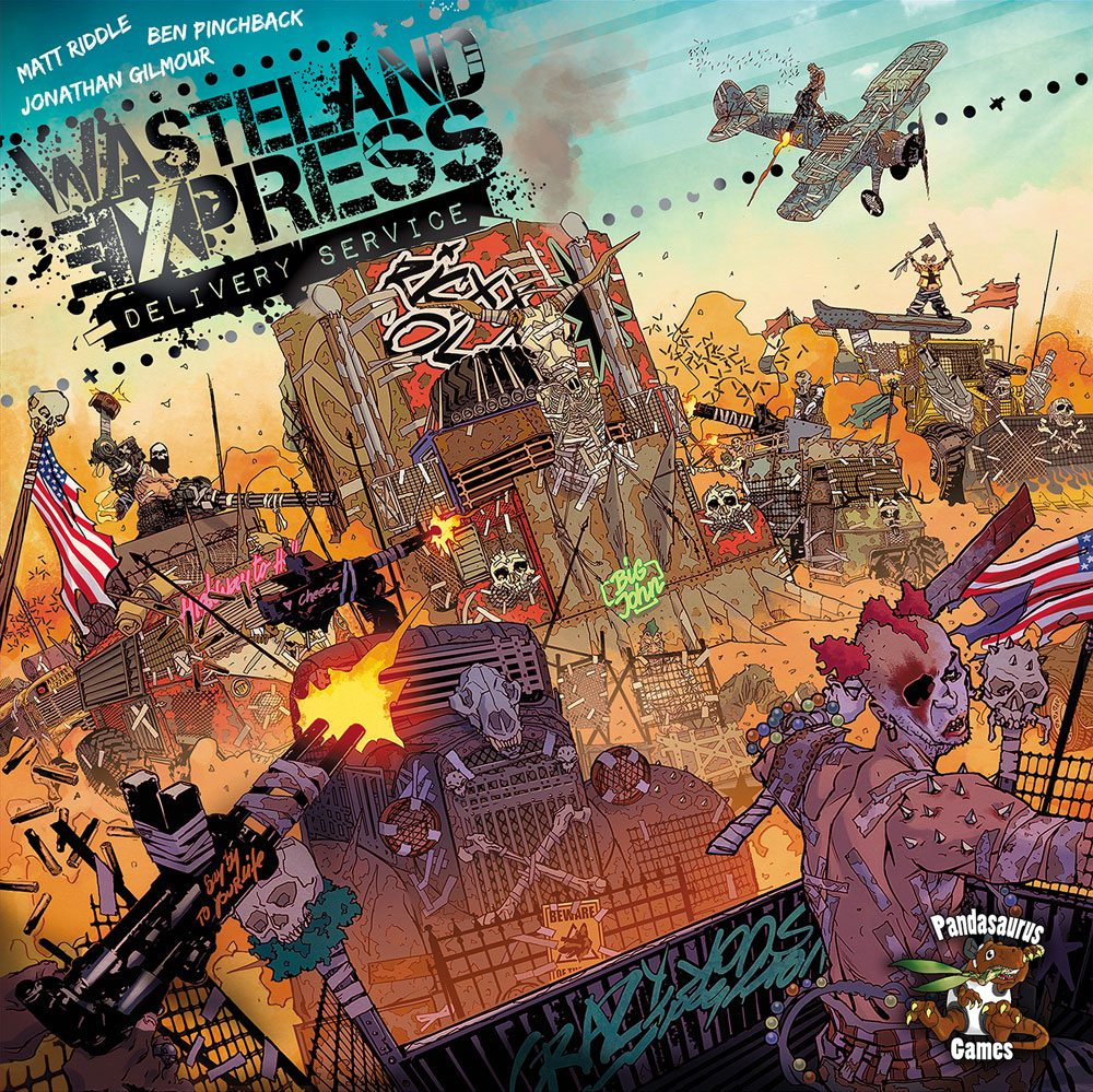 Wasteland Express cover