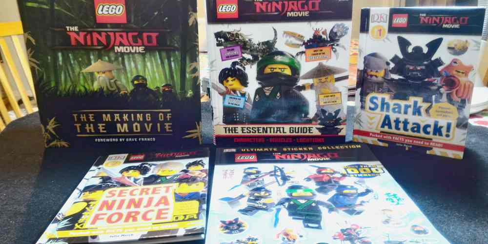DK LEGO Ninjago Movie Books