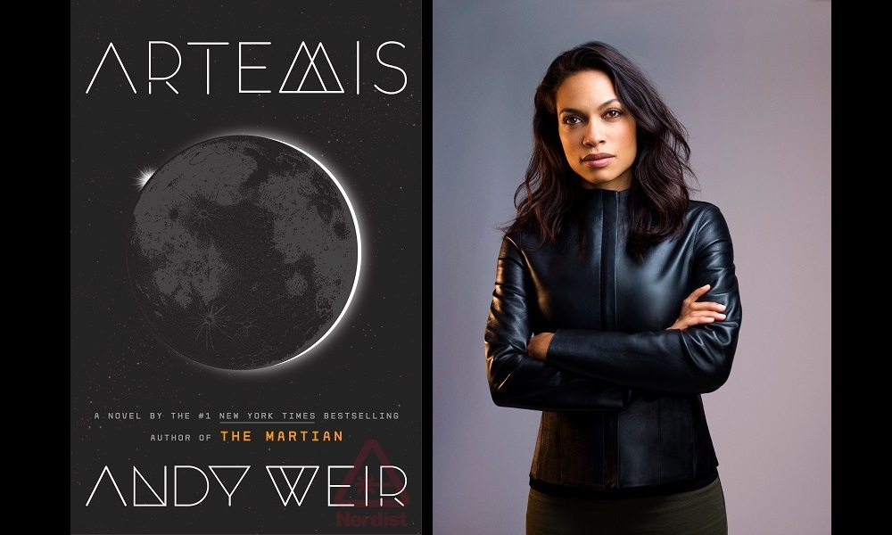 Please, Let Rosario Dawson Read 'Artemis' to You
