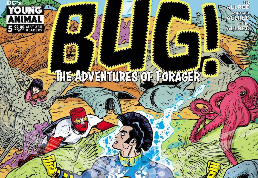 DC Comics Reviews: Bug! The Adventures of Forager #5: Music & Lyrics
