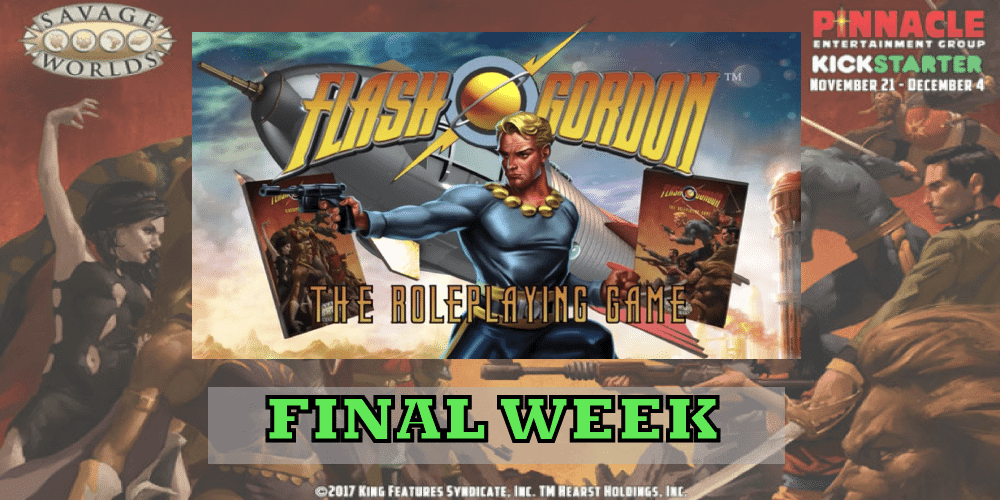 Kickstarter Tabletop Alert: 'The Savage World of Flash Gordon'