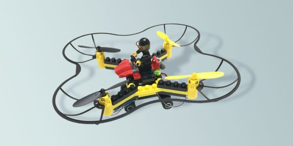 GeekDad Daily Deal: The Force Flyers DIY Building Block Fly 'n Drive Drone