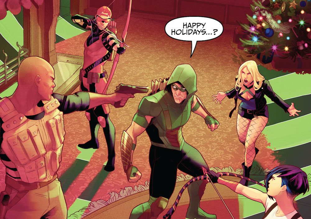 Green Arrow Annual 1, 2017
