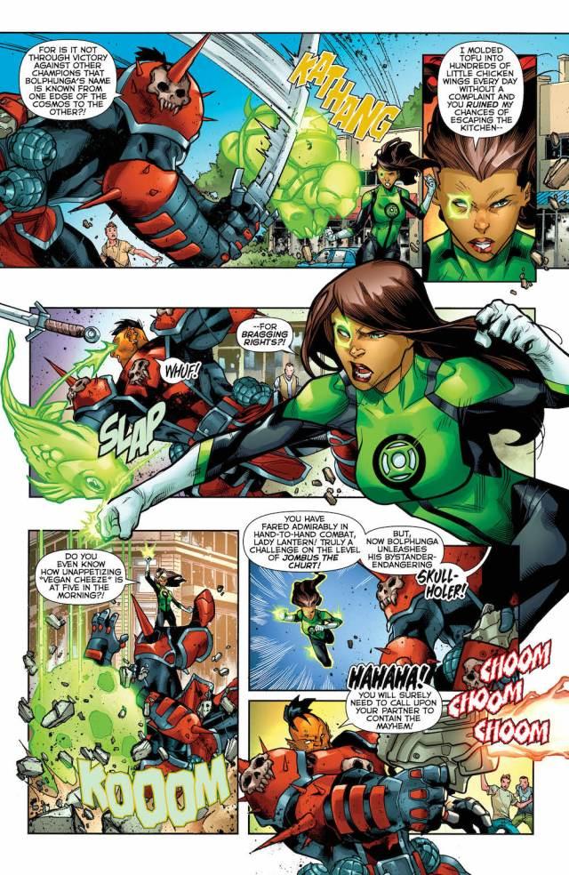 Green Lanterns #35, Jessica Cruz
