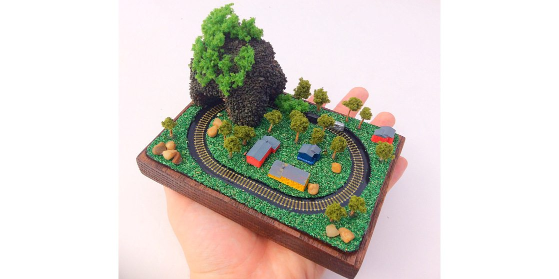 Kickstarter Alert: Littleville: The World's Tiniest Electromagetic Toy Train