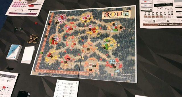 Root game in progress