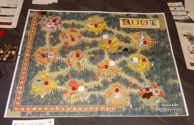 Root board setup