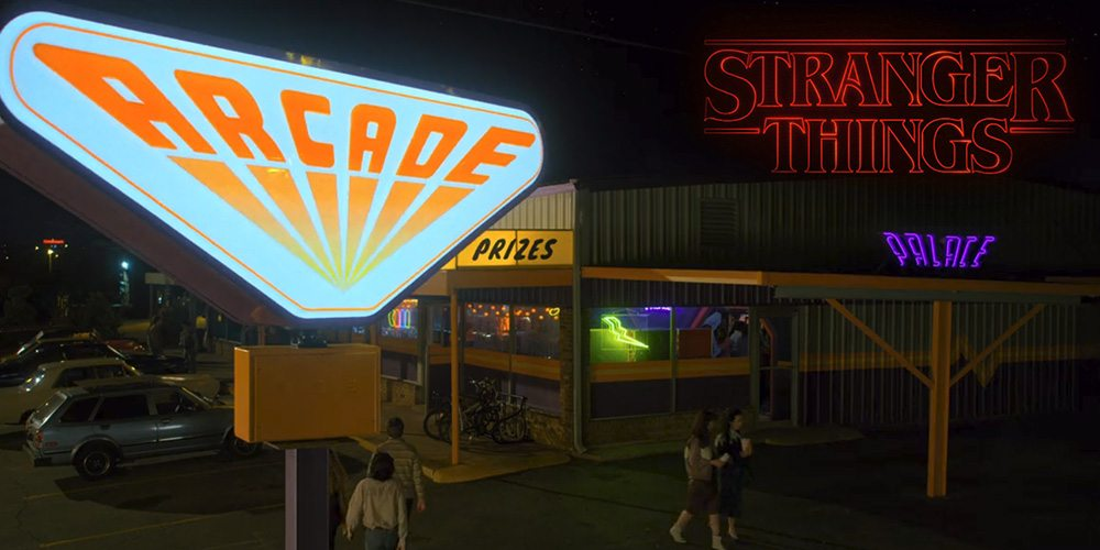 The Palace Arcade in Stranger Things 2