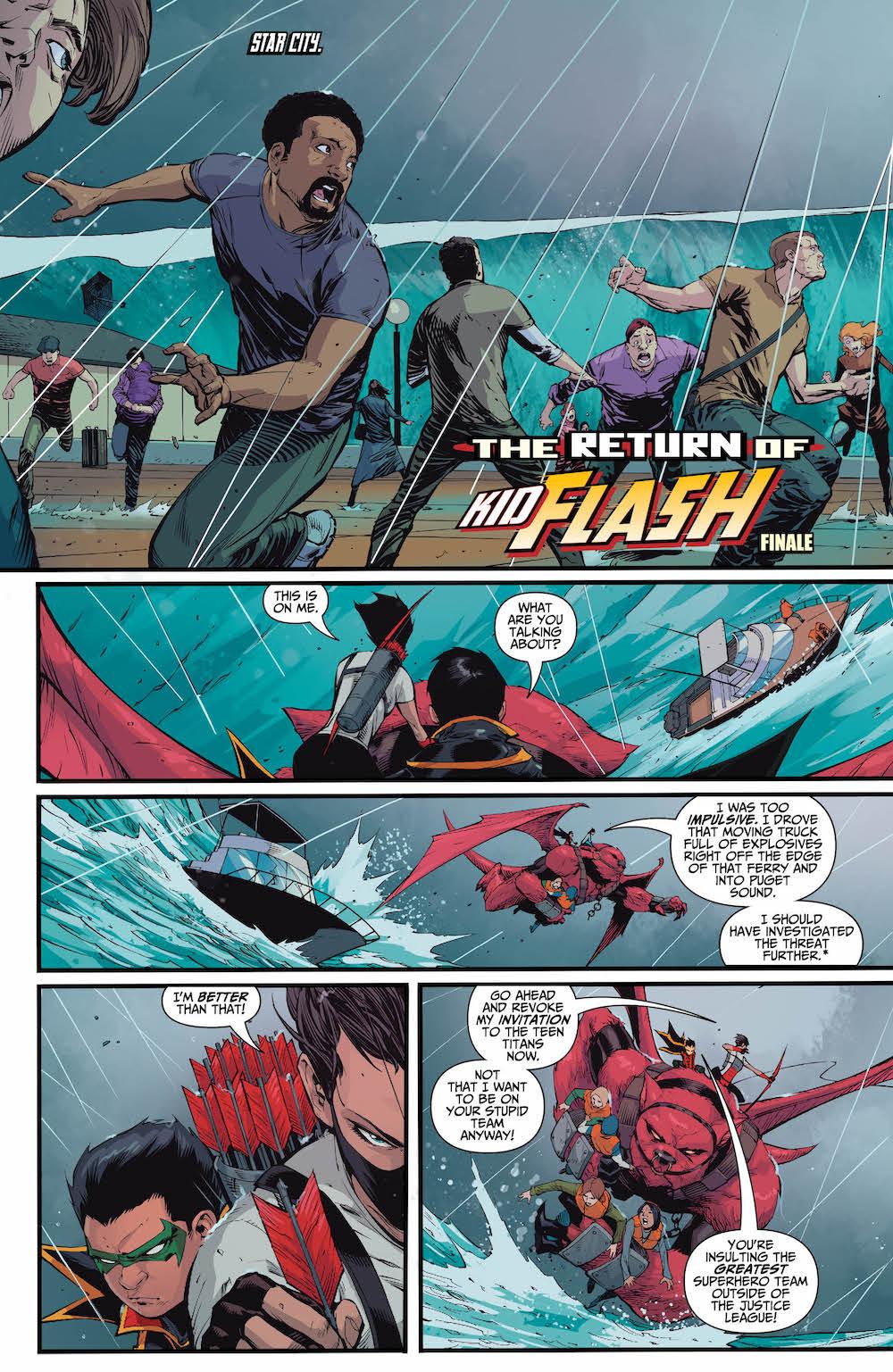 Damian Wayne, Emiko, Teen Titans 14, 2017