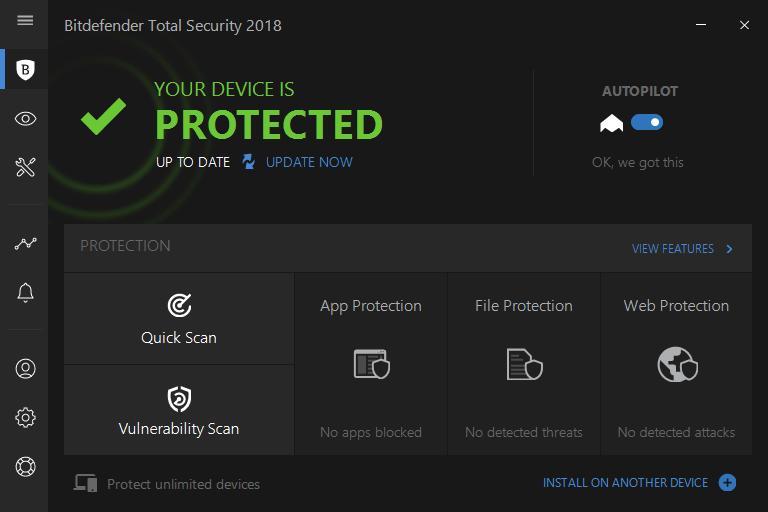 Bitdefender protected