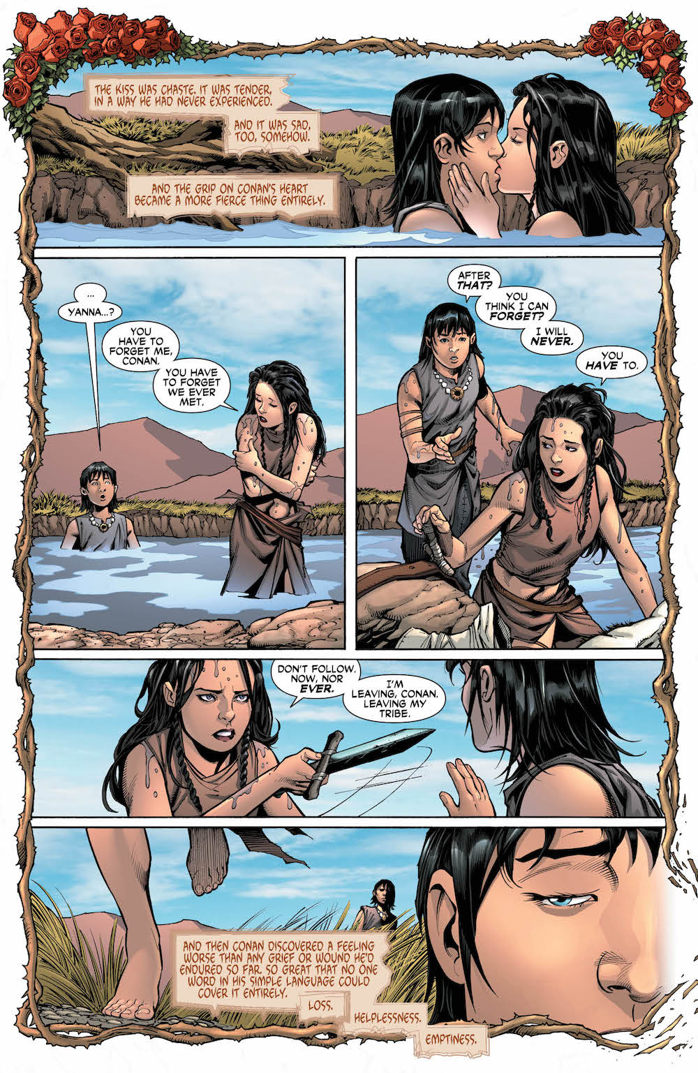 Wonder Woman/Conan #3 Diana and Conan